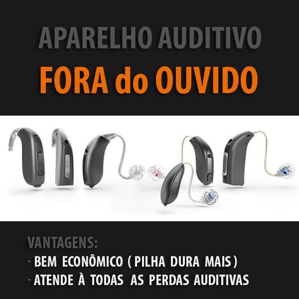 Aparelho Auditivo Fora do Ouvido