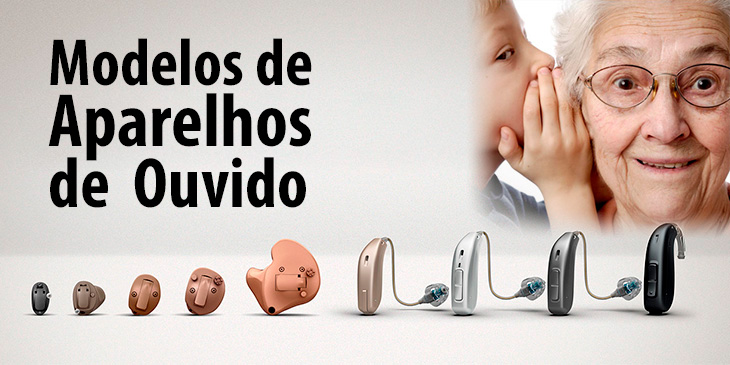 Modelos de Protetores de Ouvido